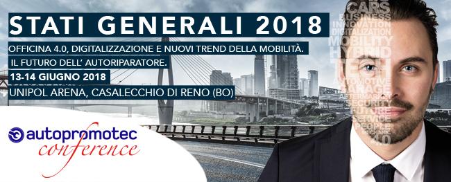 FIR parteciperà al convegno Autopromotec Conference - Stati Generali presso l'Unipol Arena di Casalecchio di Reno