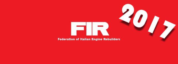 Assemblea Nazionale FIR - Federazione Italiana Rettificatori 2017